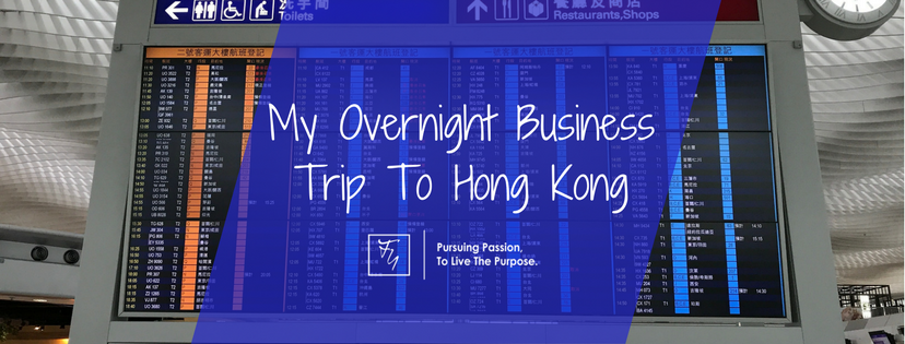 Hong Kong Overnight Business Trip